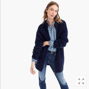 NWT J. Crew Point Sur fuzzy cardigan jacket